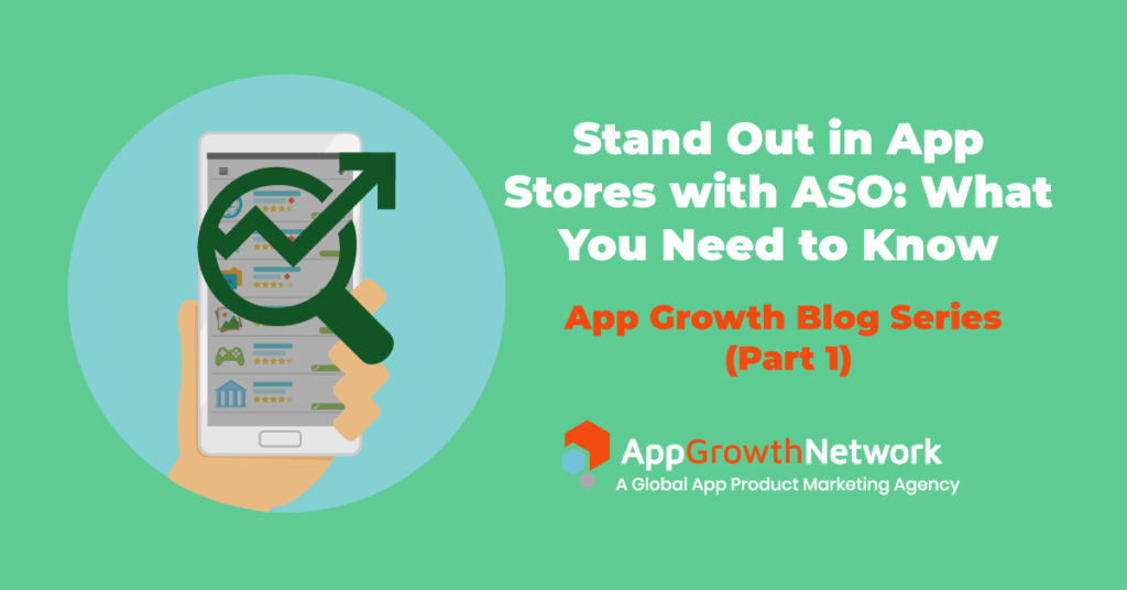feature image for stand out in app stores with ASO blog post