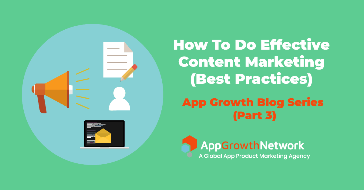 how to do effective content marketing blog post featured image