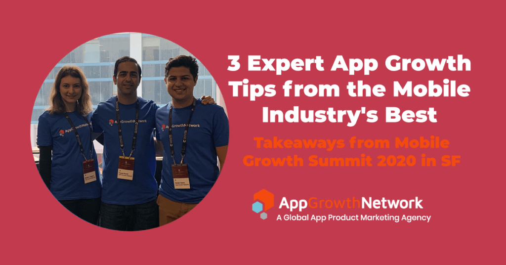 featured image for AGN team at mobile growth summit San Francisco 2020
