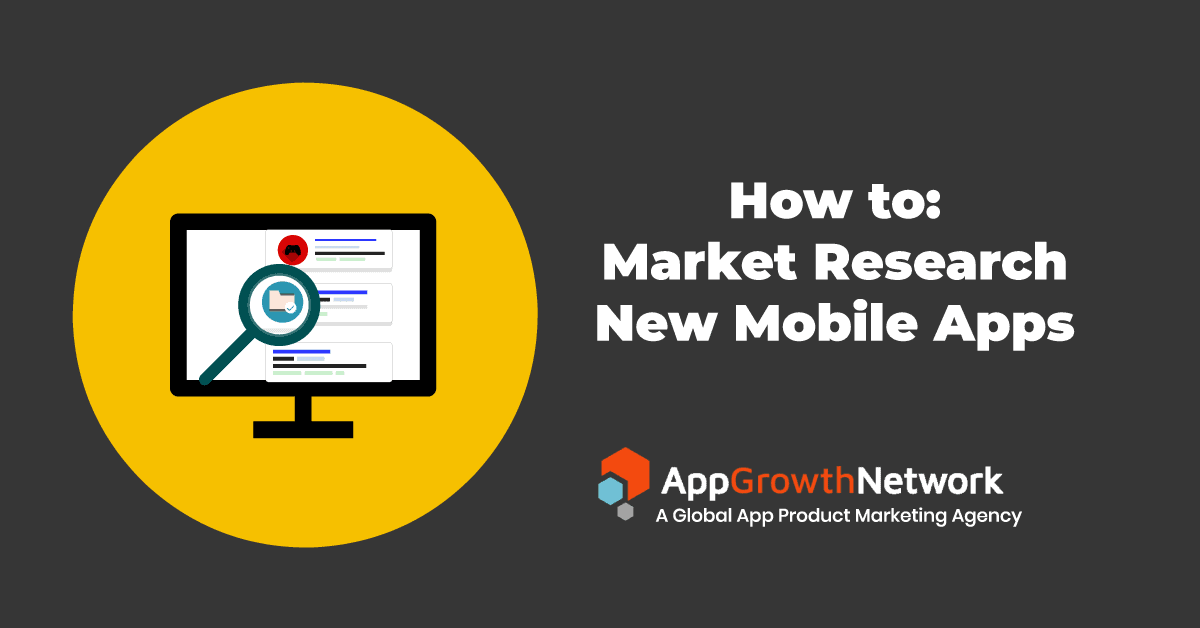 banne for how tow market research new mobile apps blog post