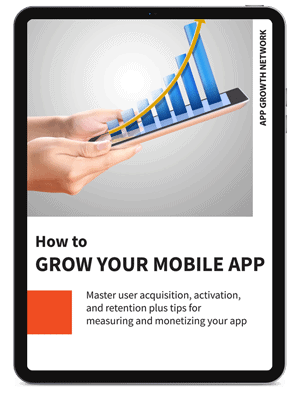E-book cover for How to Grow your App