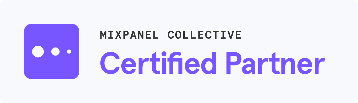 Mixpanel certified badge
